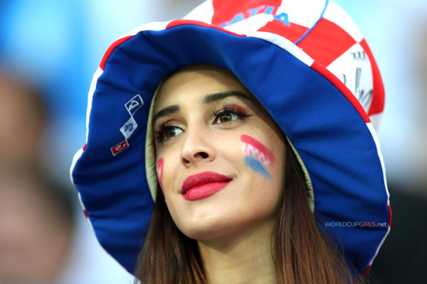 Beautiful girls at Fifa